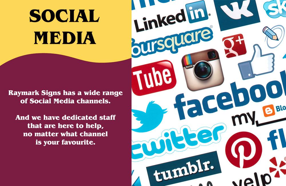 Raymark Signs Social Media
