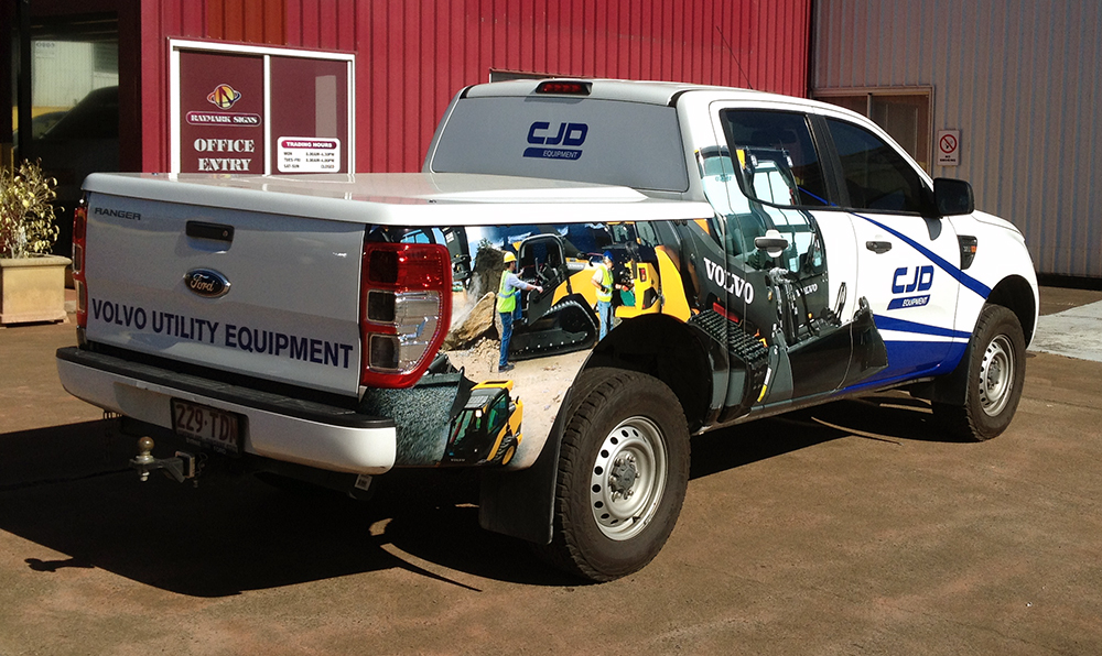 Vehicle Wraps Brisbane
