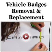 Vehicle Badges Removal and Replacement