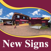 New Signs Raymark Signs